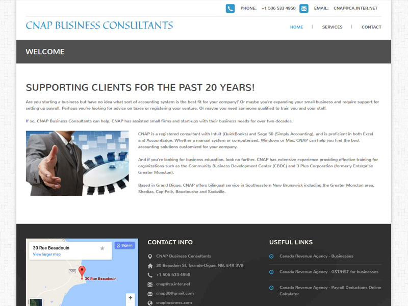 solutionsgalore.com CNAP Business Consultants